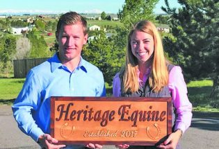 New husband-wife equine vet practice offers fully mobile clinic; state-of-the-art equipment