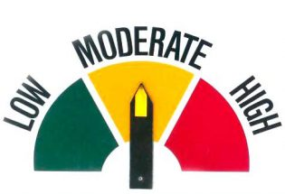 Fire danger is moderate throughout much of Larimer County