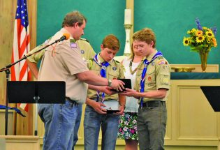 Berthoud brothers persevere to achieve coveted Eagle Scout rank, donate projects to local church