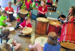 Music is my first language – Musician from Guinea teaches unity through drumming