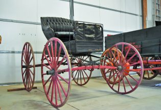 Antique doctor's wagon rounds out collection at M&M Farms