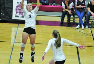 Berthoud dominates in first set – Frederick adjusts for win