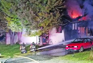Two-alarm fire destroys home in Berthoud