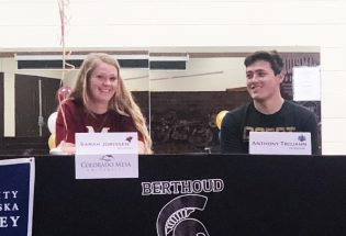 BHS athletes sign to play college sports