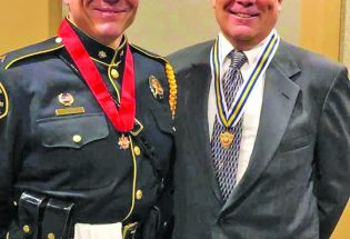 Three Berthoud officers receive awards