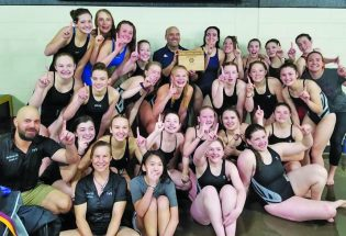 Lady Spartan swimmers capture conference championship