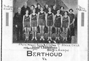 Berthoud High School girls team brought home first championship in 1930s