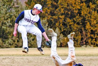 Spartan baseball flies by Summit with a 10-run victory