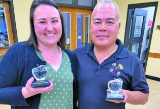 Crystal Apple Awards for Berthoud teachers