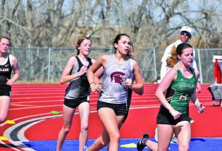 Berthoud girls take second conference track meet in Longmont