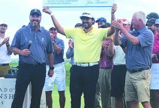Nelson Ledesma earns trophy, check, PGA Tour card in thrilling fashion at inaugural TPC Colorado Championship at Heron Lakes