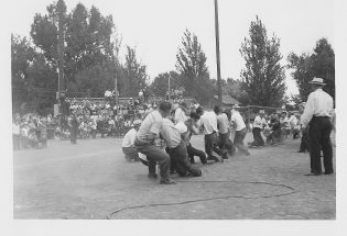 First night baseball game in Berthoud took place in 1947