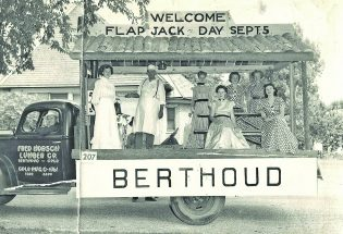 Flapjack Queen elections highlighted Berthoud's Labor Day celebrations