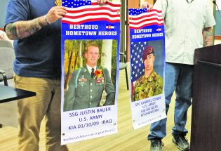 Hometown hero banners now displayed on Mountain Avenue