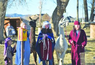 Play a part in a live Nativity this year at Guided Hope