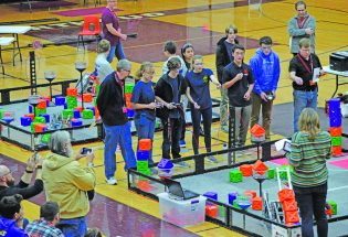 Berthoud robotics earns three awards in largest tournament in Colorado history