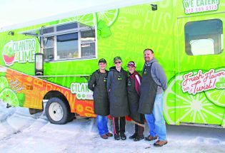 Cilantro & Lime offers food truck options