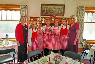 Local PEO Chapter hosts Valentine tea