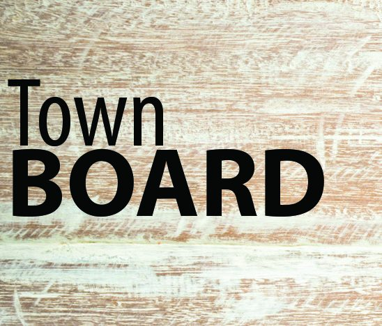 Town board gets a look at proposed 2021 budget