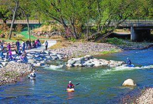 Whitewater Park a short drive from Berthoud offers recreation, environmental amenities