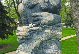 Have you ever wondered about the sculptures in Fickel Park?