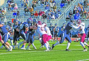 Halloween spooky in Severance for Berthoud football