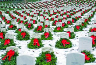 Wreaths Across America for our veterans