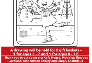 Christmas in Berthoud Coloring Contest 2020