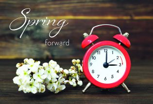 Tick Tock – Daylight Saving Time begins on March 14
