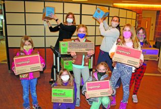 Girl Scouts donate cookies to health care workers
