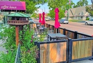 """New """"parklets"""" installed along Mountain Avenue"""