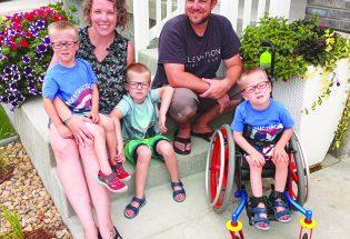 Fundraiser for adaptive playground equipment at Berthoud park