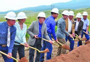 Construction kicks off at Chimney Hollow Reservoir