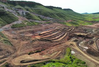 Construction progressing at Chimney Hollow